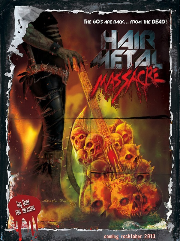 Danny Draven to Direct Hair Metal Massacre