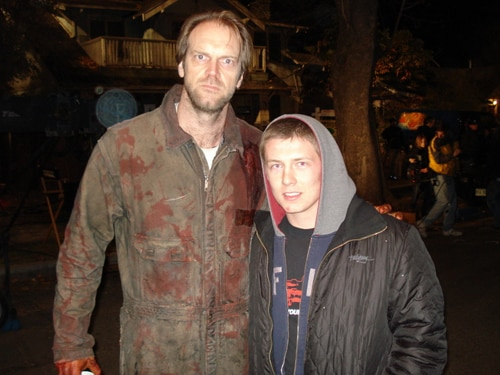 Tyler Mane without the mask!