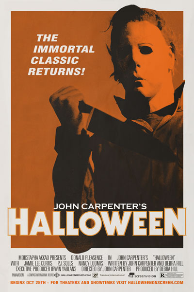 Official Halloween Theatrical Re-release Info!