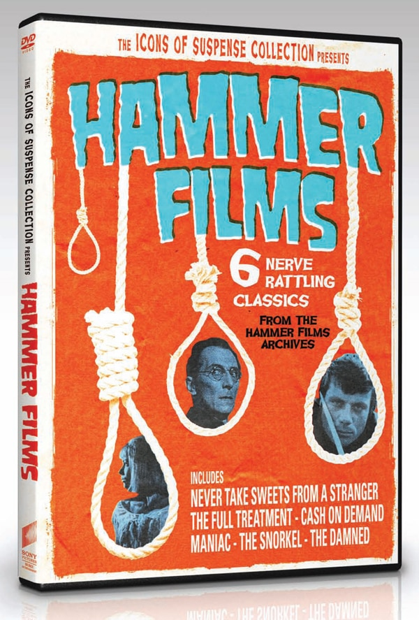 Hammer Films Icons of Suspense Coming to DVD