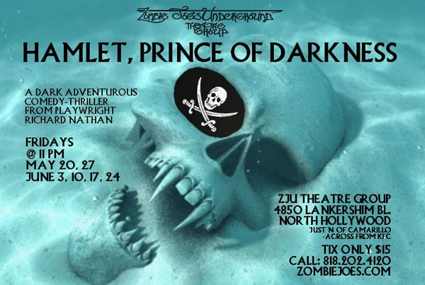 Comedy-Thriller Hamlet, Prince of Darkness Heading to the ZJU Theatre Group Stage