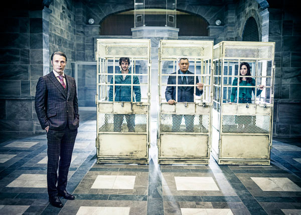 hannibalnew - #SDCC14: Break the Tension with this Hannibal Season 2 Gag Reel