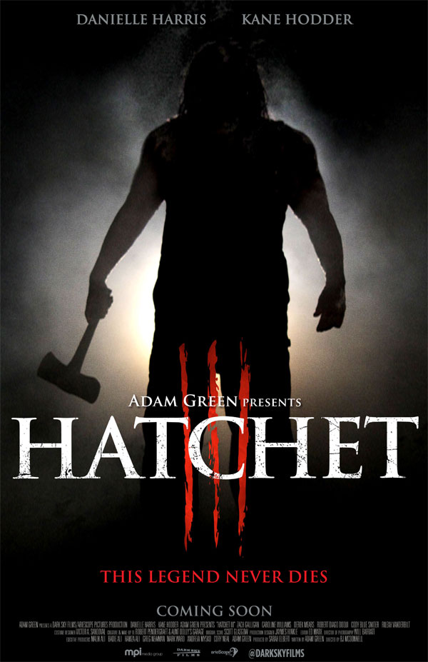 hatchet 3 v1 - Adam Green Adds More Items to Boston Charity Fundraiser Auction