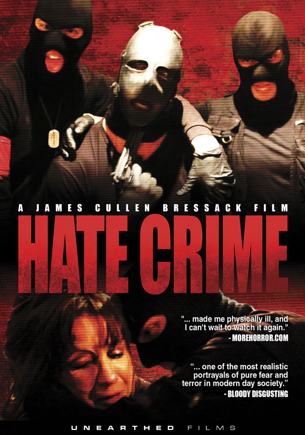 Official DVD Release Date and Box Art for Hate Crime