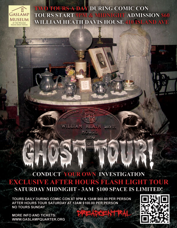 San Diego Comic-Con 2013: Spend Your Nights in a REAL Haunted House With Dread Central and The San Diego Ghost Hunters