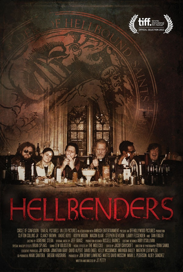 TIFF 2012: Exclusive Hellbenders Post Cards! Collect them All and Stick it to Satan!