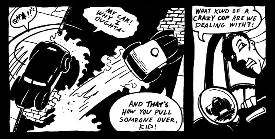 Hard-Boiled Horror Tales: The Hit Got Hairy Part 4 (click for larger image)