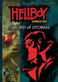 Hellboy: Sword of Storms DVD (click for larger image)