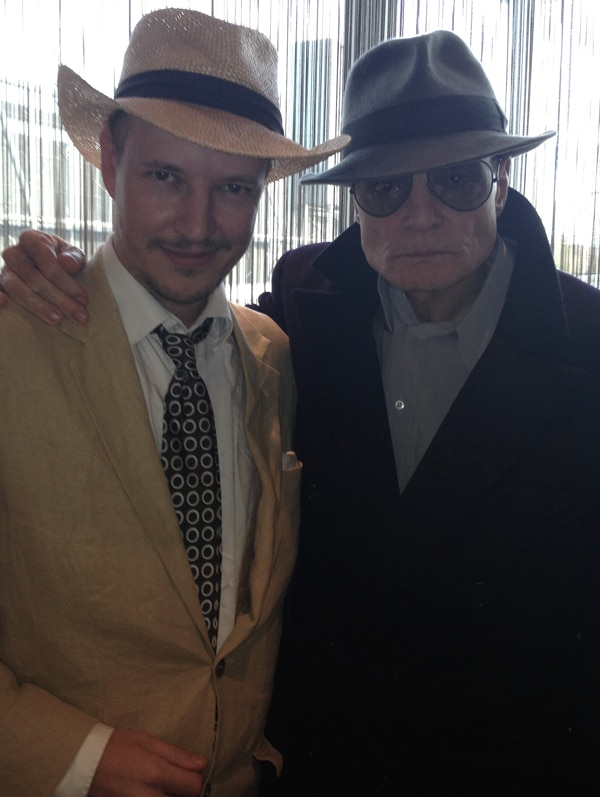 Look Who's Back! Dieter Laser Returns for The Human Centipede 3 and We've Got the Photo to Prove It