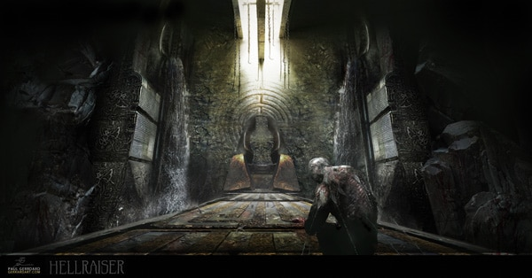Concept Art for Potential Hellraiser Remake