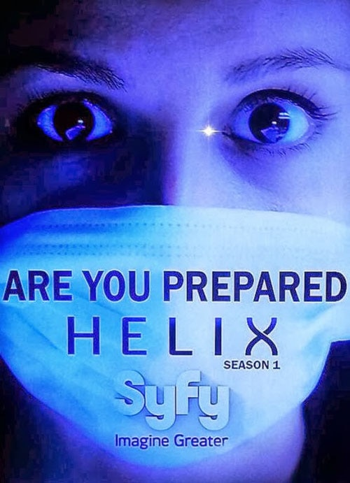 helix poster - Set a Trap with These New Photos and 5-Minute Clip from Helix Episode 1.12 - The Reaping