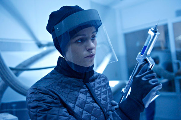 Don a Slicker and Check Out These Images from Helix Episode 1.11 - Black Rain