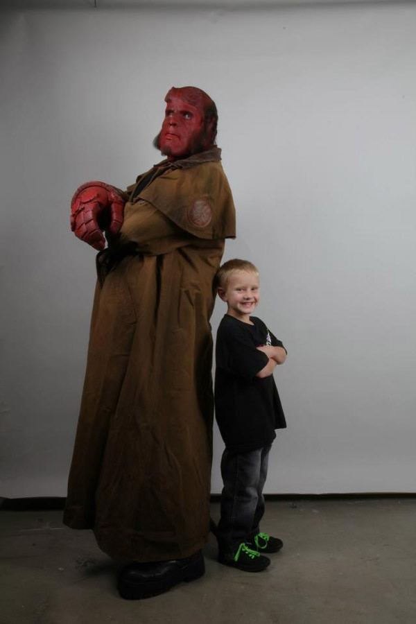 Ron Perlman Makes a Child's Hellboy Wish Come True
