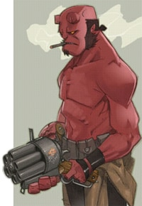 Hellboy 2: The Golden Army site launches!