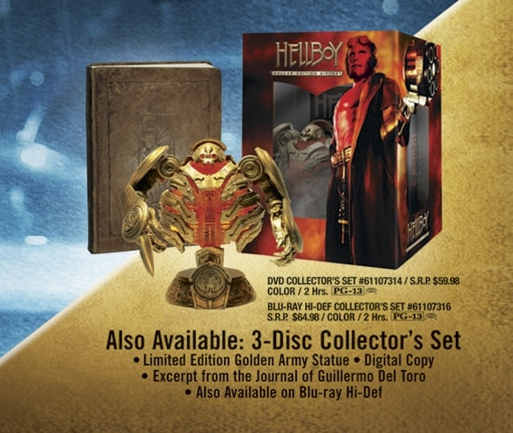 Hellboy II: The Golden Army Collector's Set!