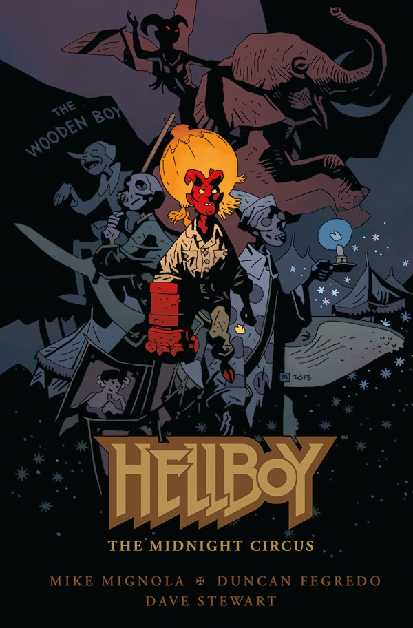 C2E2 2013: Dark Horse Announces Hellboy: The Midnight Circus, Elfquest: The Final Quest, and Powers Figures Line