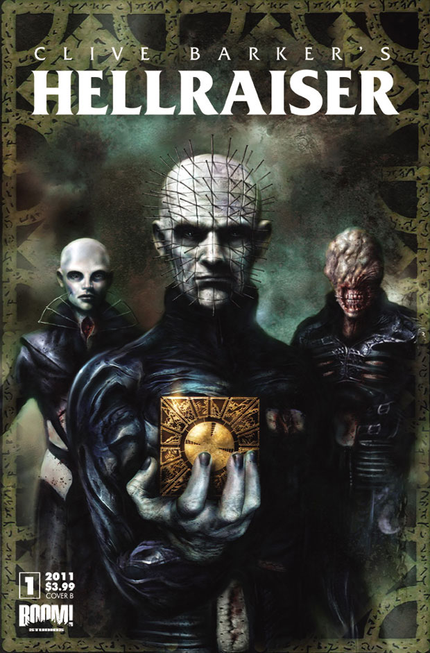 New Hellraiser Comic Strikes with a Boom!
