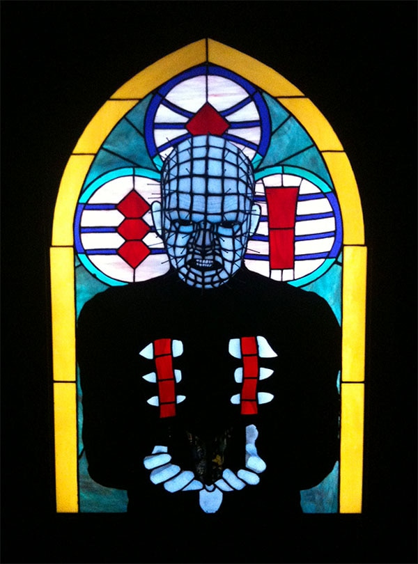 Hellraiser Lord of the Leviathan Stained Glass
