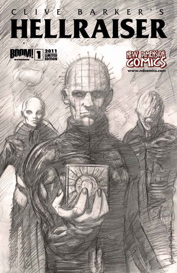 BOOM! Studios Brings You Hellraiser: Prelude and a Special Preview of Clive Barker's Hellraiser Issue 1 Right Here Right NOW!