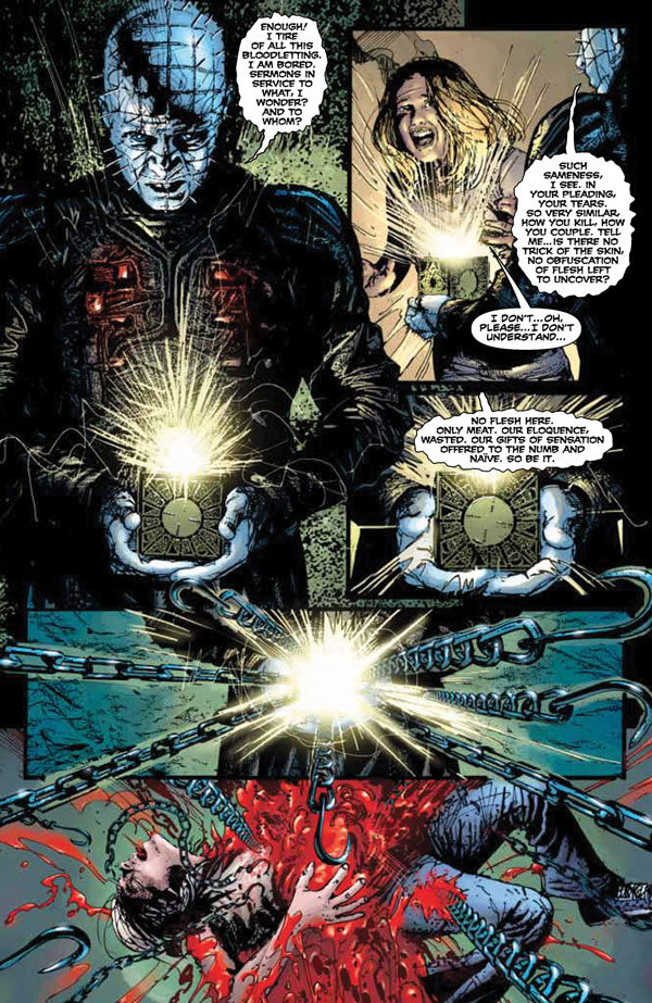 BOOM! StudiosY Brings You Hellraiser: Prelude and a Special Preview of Clive Barker's Hellraiser Issue 1 Right Here Right NOW!
