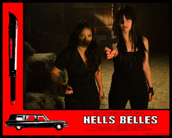 Indie Horror Month Exclusive: Christian Ackerman Talks Hell's Belles and More