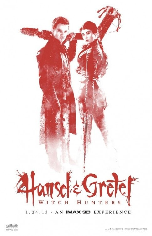 Hansel & Gretel: Witch Hunters Limited Edition IMAX One-Sheet Makes its Premiere