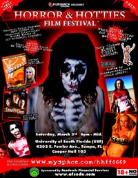 The Horror & Hotties Film Festival (click for larger image)