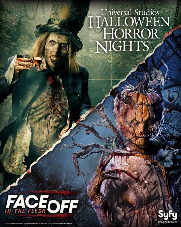 Face Off Comes to Halloween Horror Nights