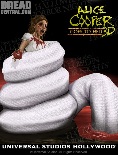 Halloween Horror Nights: An Exclusive Early Look at Renderings for the New Alice Cooper Maze