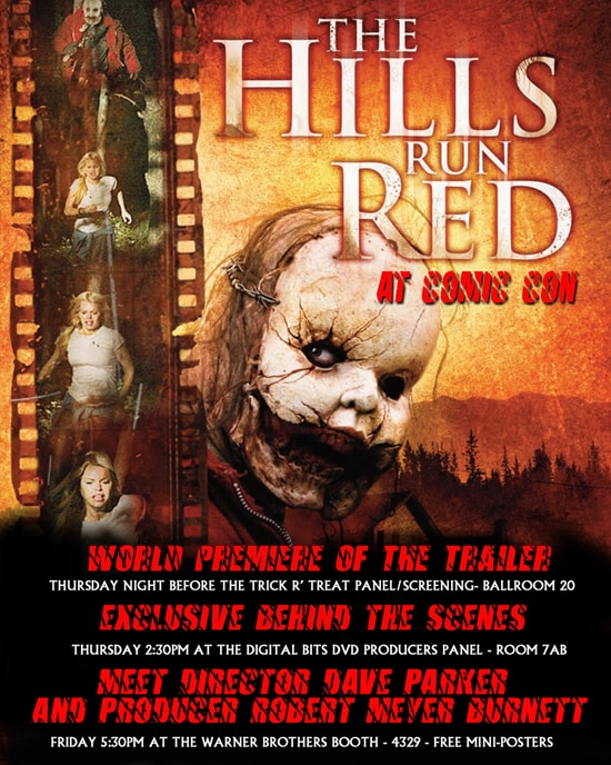 The Hills Run Red at SDCC 09