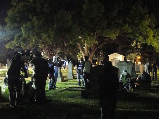 Exclusive Set Visit: Zombies Take Over Hinnon Valley