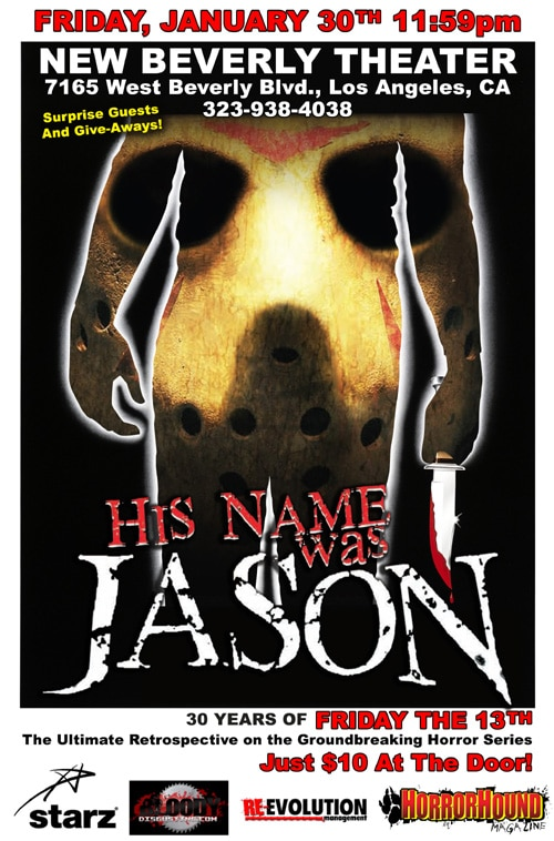 His Name Was Jason at the New Beverly!