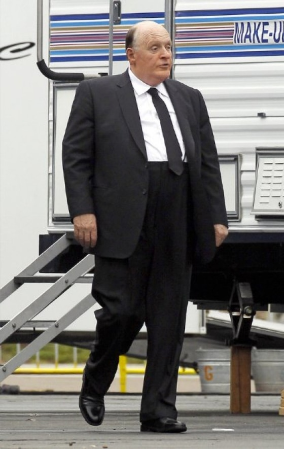 Second Look at Anthony Hopkins in Character as Hitchcock