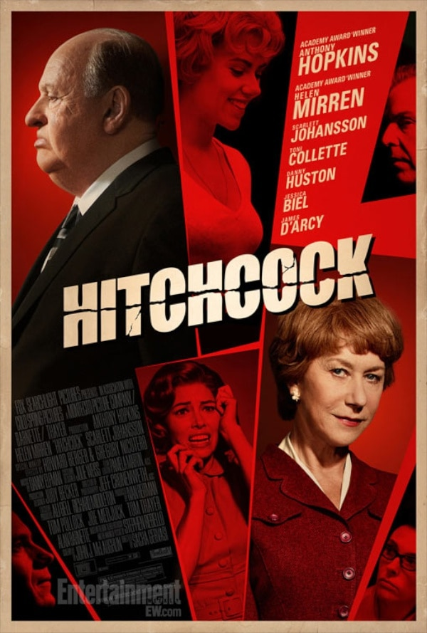 New Character Driven Hitchcock Poster