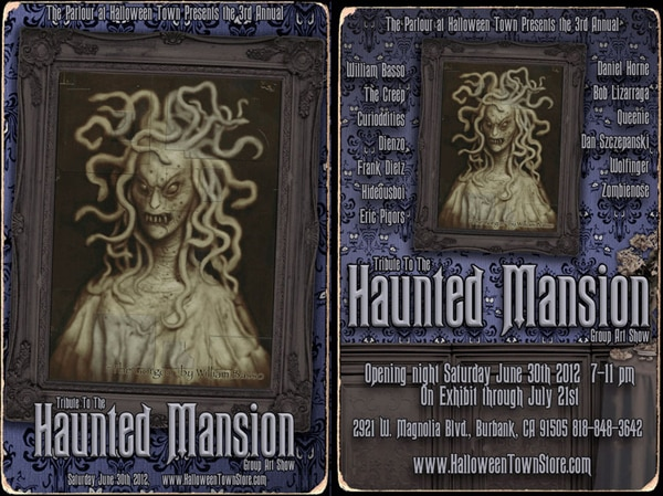 Third Annual Tribute to the Haunted Mansion Group Art Show; Opening Night Gala June 30th