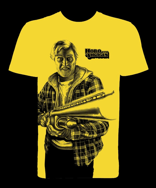UK Readers: Win Limited Edition Hobo with a Shotgun T-shirts and Your Chance to Be on the Poster!