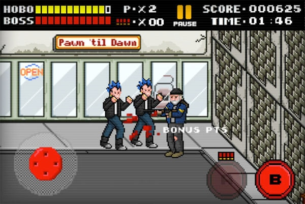 8-Bit Style Hobo With a Shotgun Video Game Brings Pixelated Violence!