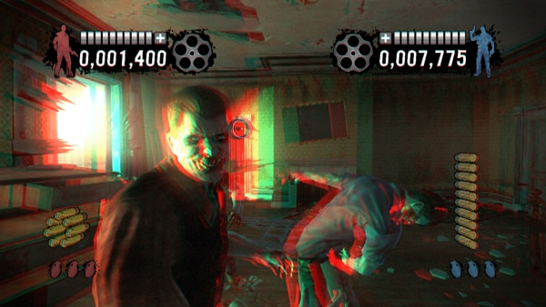 House of the Dead: Overkill - Extended Cut Gets Modern and Retro 3D (click for larger image)