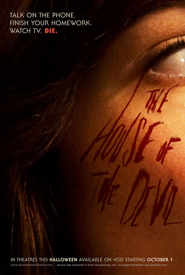 Three New Posters for Ti West's The House of the Devil