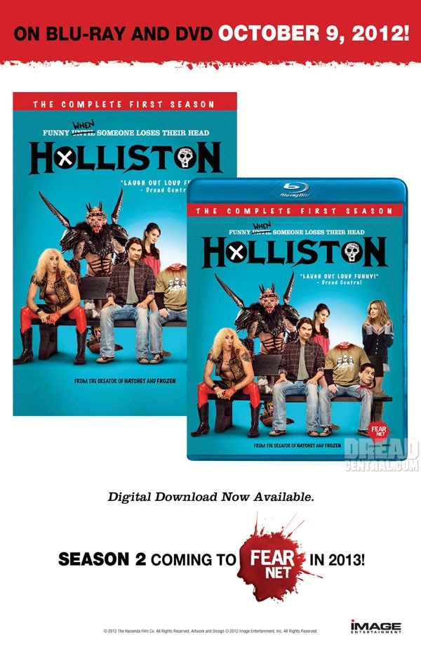 San Diego Comic-Con 2012: Exclusive First Look at Holliston and Lovely Molly Limited Edition One-Sheets