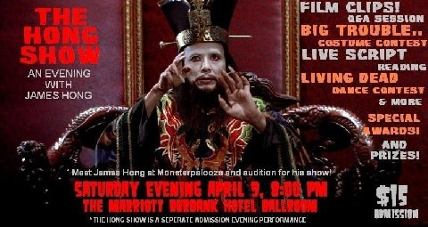 2011 Monsterpalooza Announces An Evening with James Hong!