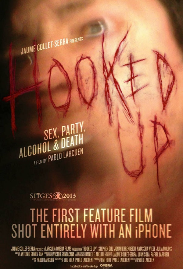 hooked up poster - iPhone Hooked Up to Make Horror Movie