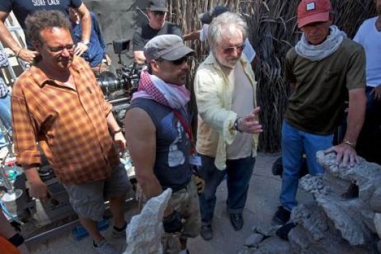 First On-Set Image and Info - Tobe Hooper's Djinn