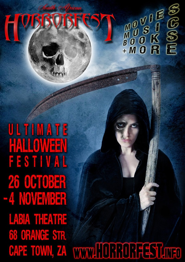 Complete Lineup Announced for the 2011 South African HorrorFest