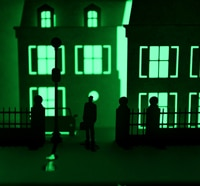 See Your Favorite Haunted Houses in Horrorgami Form