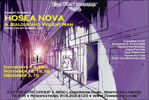 Hosea Nova: A Jealous and Violent Man Heading to the ZJU Theatre Group Stage this November