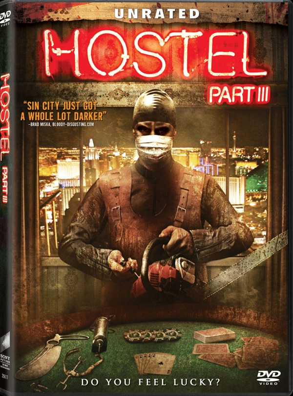 Hostel: Part III - DVD Art and Trailer Bet on Blood Red
