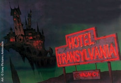 Hotel Transylvania log (click to see it bigger!)