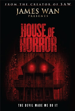 First Details and Sales Art: James Wan's House of Horrors