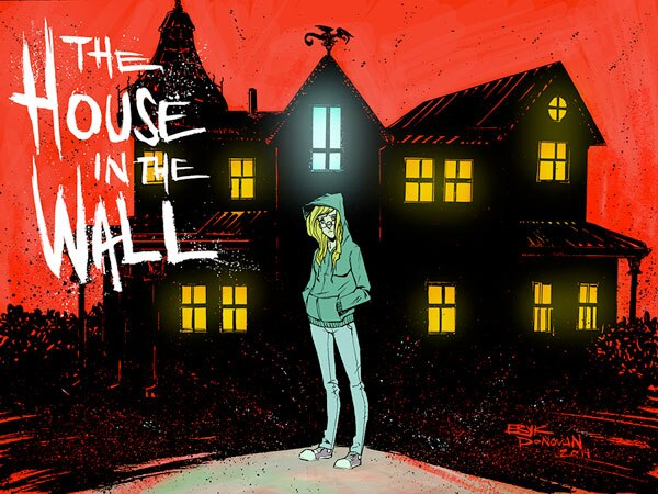 Thrillbent Launching James Tynion's The House in the Wall on June 20th